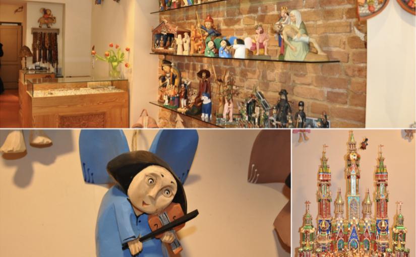 Drewniane ręcznie robione anioły oraz szopki bożonarodzeniowe idealne na prezent